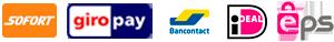 sofort Bancontact Giropay